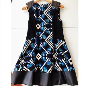 MINK-PINK(S);VeganLeather; imp.sheath mini dress